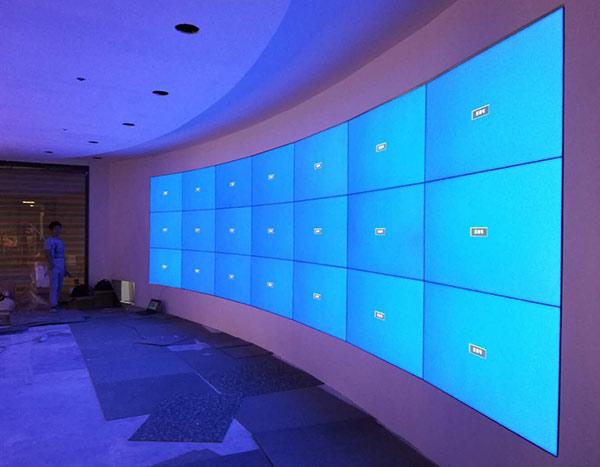售楼部46寸液晶拼接屏49寸拼接监视器