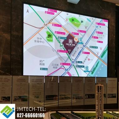 中海地产LED显示屏区位图完工