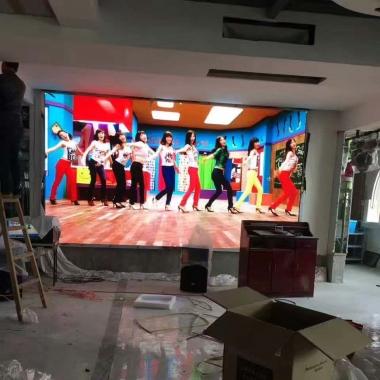 武汉室内LED显示屏黄石阳新项目完工