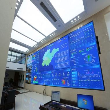 某交通指挥中心全彩LED显示屏案例展示