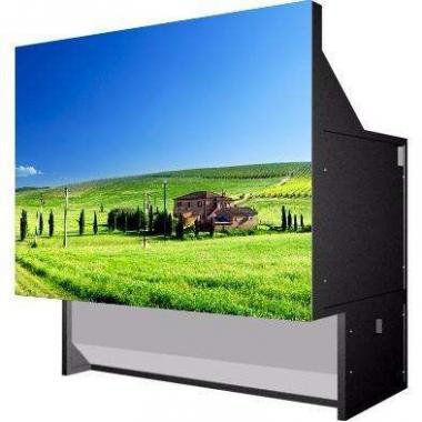武汉巨幕定制款60寸4:3DLP背投拼接屏