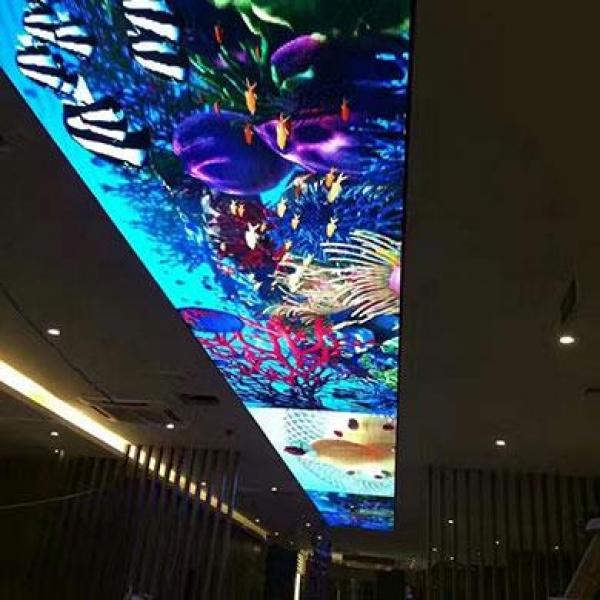 如何合理设计玻璃幕墙LED显示屏安装结构?