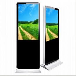 武汉98寸落地立式液晶广告机一体机安装