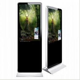 86寸落地立式LED广告机安装