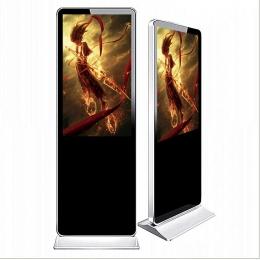 75寸落地立式液晶显示广告机品牌代理商