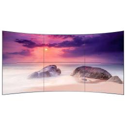 曲面拼接屏弧形LCD液晶拼接屏