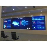电信局室内监控室LED显示屏P1.56