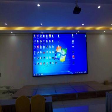 集团公司会议室LED显示屏视频会议
