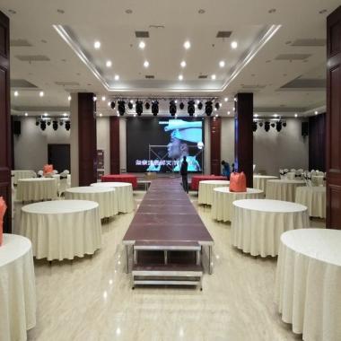 武汉酒店宴会厅LED显示屏婚庆项目