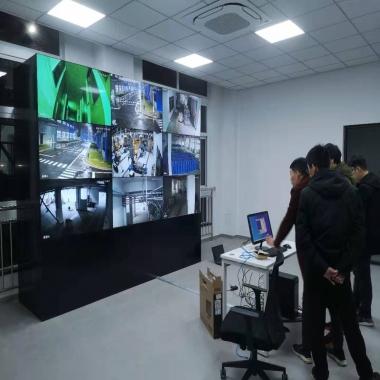 湖北公安LCD液晶拼接屏项目