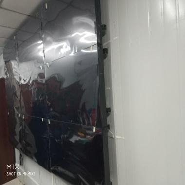武汉绿色能源公司液晶拼接屏施工案例