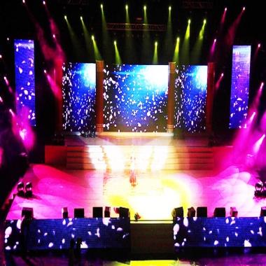 武汉舞台租赁LED显示屏应用方案