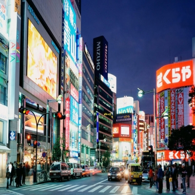 商业广告LED显示屏应用方案
