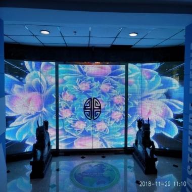 2020年,商场LED透明屏选择参考分析