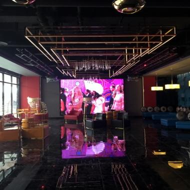 万达广场售楼部LED显示屏工程案例