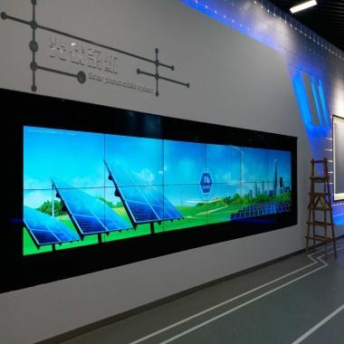 武汉液晶拼接屏厂家案例