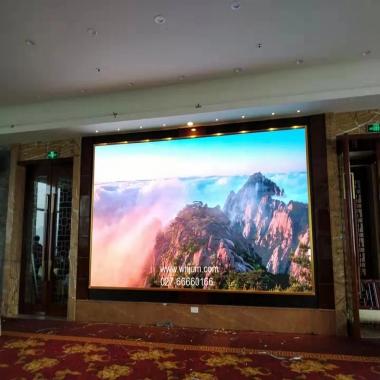 星级酒店宴席会议厅LED显示屏案例