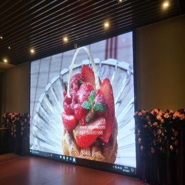 三五酒店LED显示屏舞台婚庆屏P3