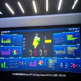 公检法指挥大厅led大屏幕应用解决方案