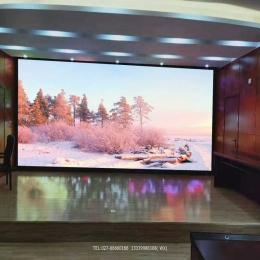视频会议用室内LED显示屏小间距超清4K显示
