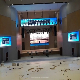 武汉舞台报告厅LED小间距显示屏定制