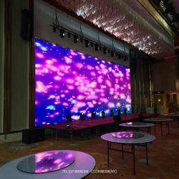 酒店舞台活动用LED显示屏室内全彩