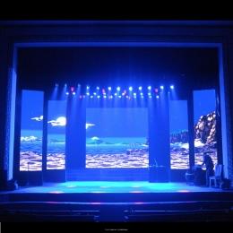 舞台演艺会议室LED全彩小间距显示屏安装