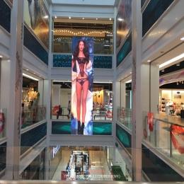 商场大厅吊装全铝结构LED屏P2.0小间距高清