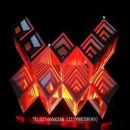 湖北华夏光彩酒吧DJ显示屏LED屏