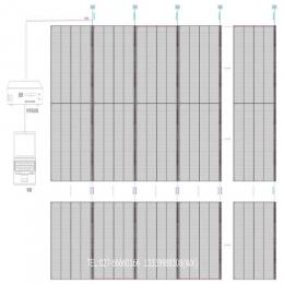 武汉LED透明屏走线方式详解