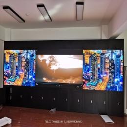LED全彩大屏幕电视墙小间距完工