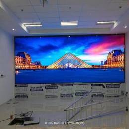 武汉室内全彩P2.0LED显示屏完工