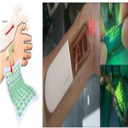 三星研发可拉伸OLED皮肤贴片,可用作健身监测器