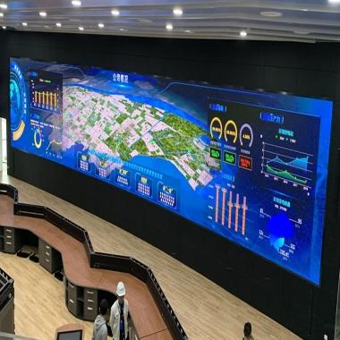 国网供电公司室内P1.2小间距LED显示屏
