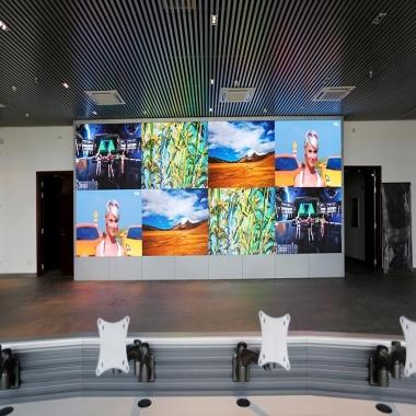 湖北恩施利川广电中心LED小间距显示屏